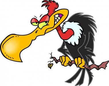 Cartoon Buzzard