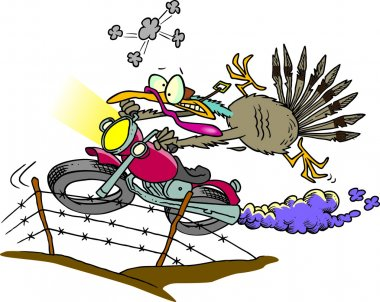 Cartoon Turkey Great Escape