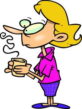 Cartoon Coffee Break