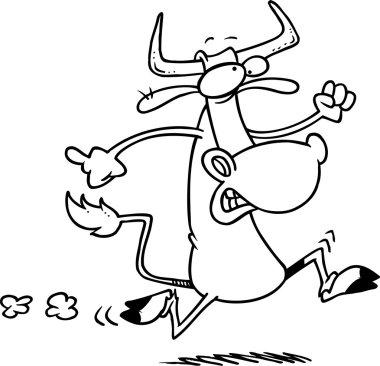 Cartoon Cow Run