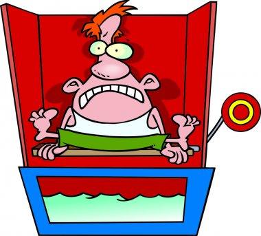 Cartoon Dunk Tank