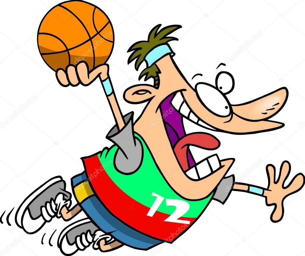 Kresleny Basketbal Namocit Stock Vektor C Ronleishman 13942059