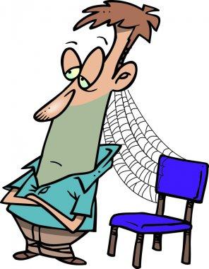 Cartoon Patient Man