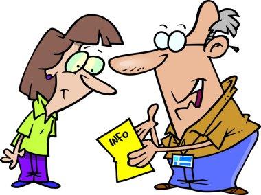 Cartoon Information Helper