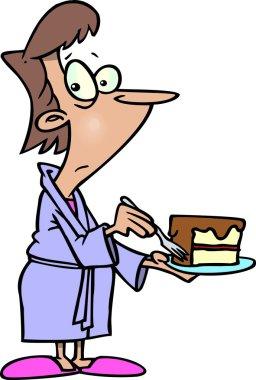 Cartoon Diet Cheater
