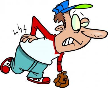 Cartoon Back Pain