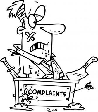 Cartoon Complaints Desk