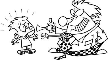 Cartoon Scary Clown