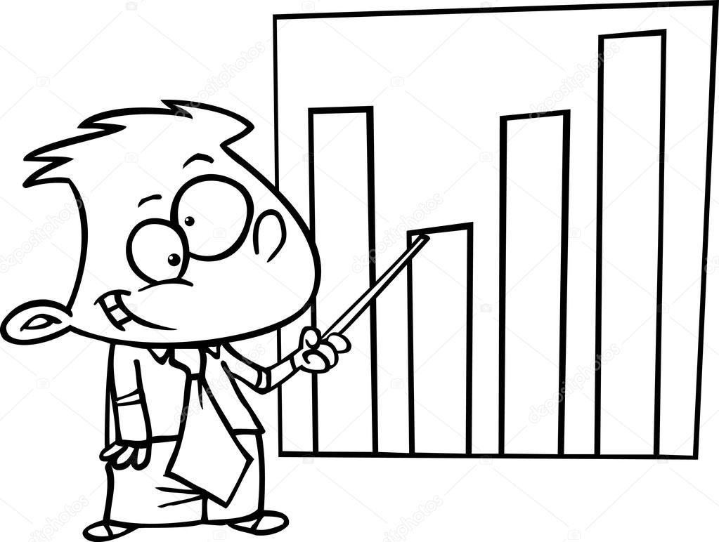 cartoon kid chart — stock vector © ronleishman #13951638