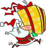 Cartoon-Weihnachtsmann