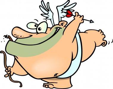Cartoon Cupid Man