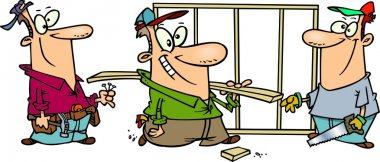 Cartoon Work Crew