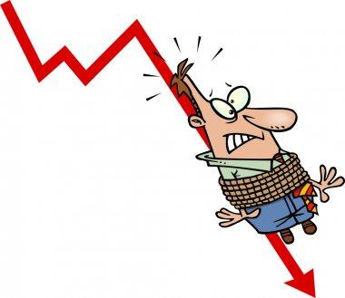 Cartoon Business Downturn