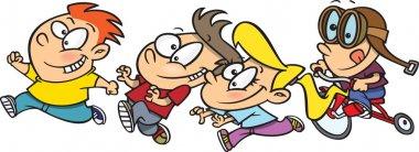Cartoon Kid Stampede