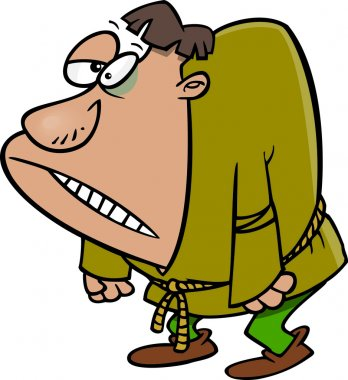 Cartoon Igor Hunchback