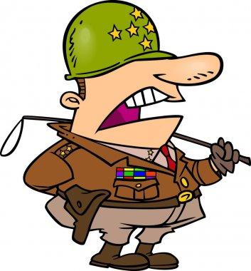 Cartoon Army General