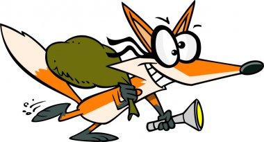 Cartoon Fox Thief