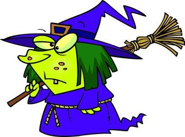Cartoon Short Witch