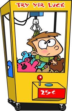 Cartoon Claw Machine
