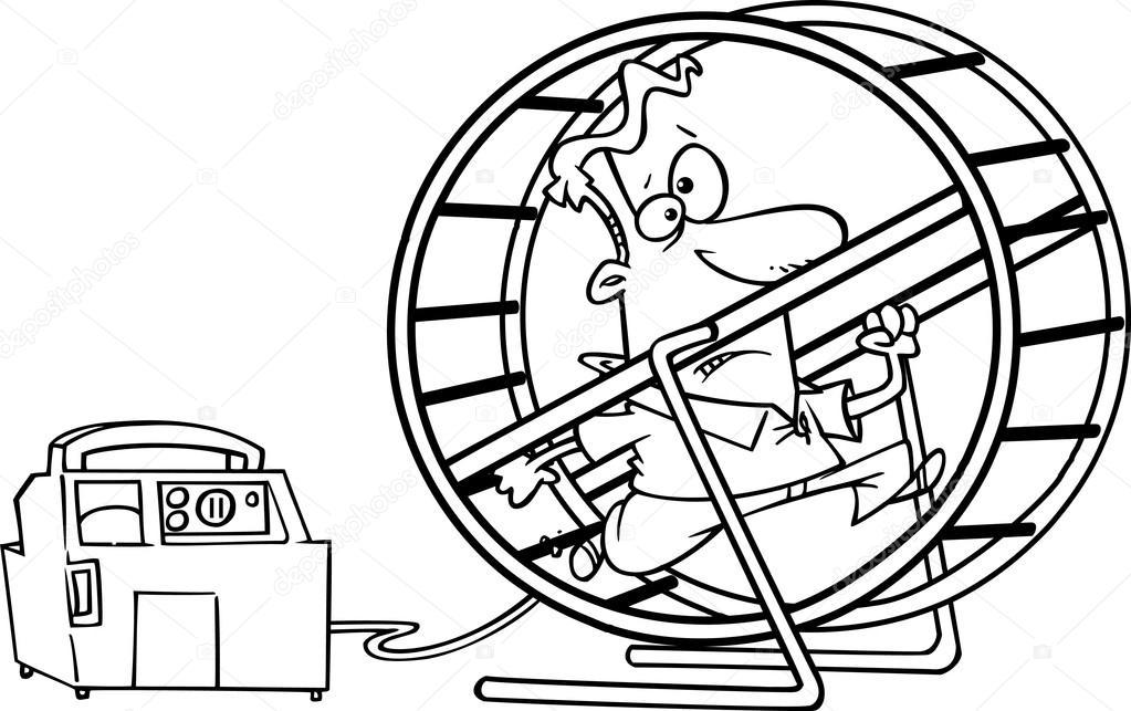 Hombre corriendo para colorear   historieta hombre corriendo en una ...