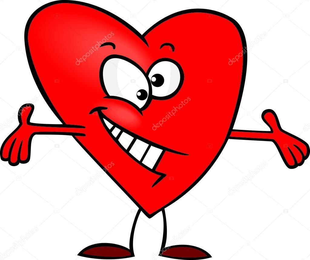 C lin c ur dessin anim image vectorielle ronleishman - Dessin de coeur amoureux ...