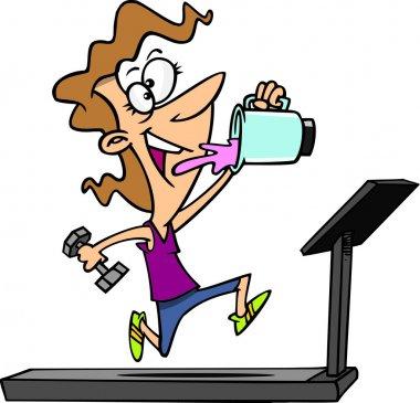 Cartoon Treadmill