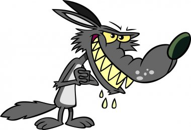 Cartoon Big Bad Wolf