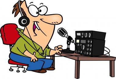 Cartoon Ham Radio