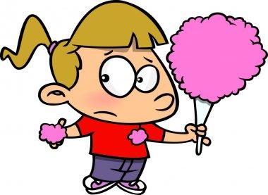 Cartoon Cotton Candy