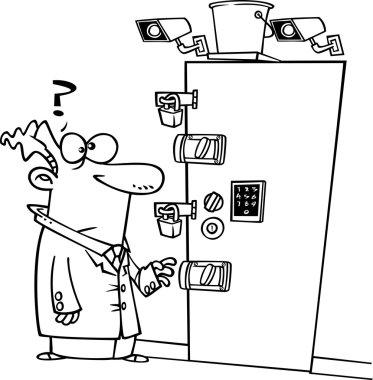 Cartoon Secure Room