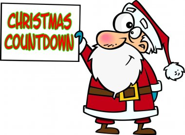 Cartoon Christmas Countdown