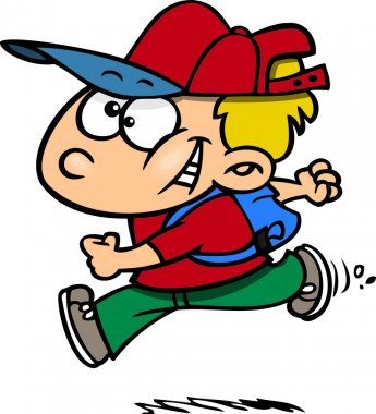 Cartoon Schoolboy