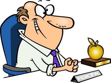 Cartoon School Principal