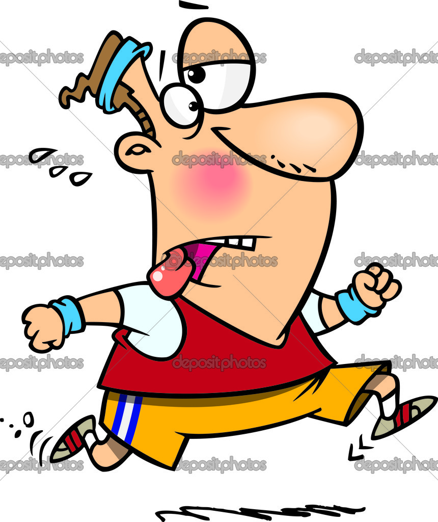 exhausted runners funny