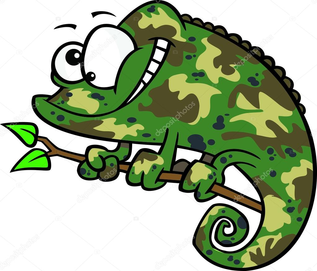 clipart happy cartoon green chameleon lizard with camouflage rh depositphotos com clipart camouflage border camouflage borders clip art