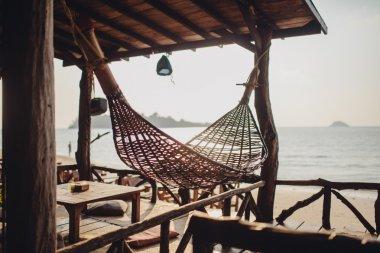 Resort villa hammock