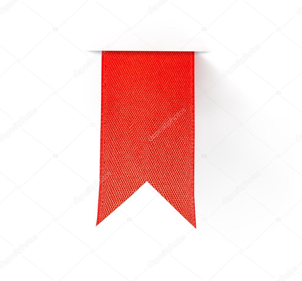 Rote Lesezeichen-Band — Stockfoto © Maximkostenko #35969235