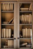 Fotografie knihy na polici