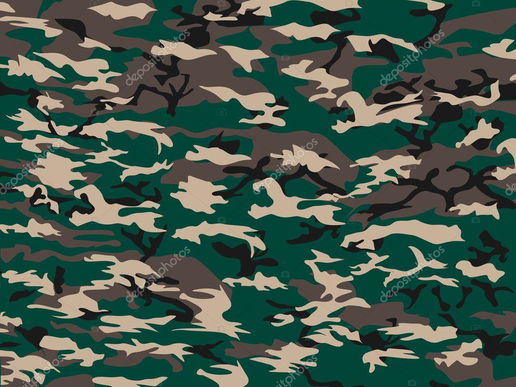 tapa camuflaje verde — Vector de stock © LABBELMAN #12262879