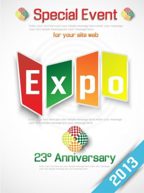 EXPO 2013 ANNUAL EVENT ADVERTISING