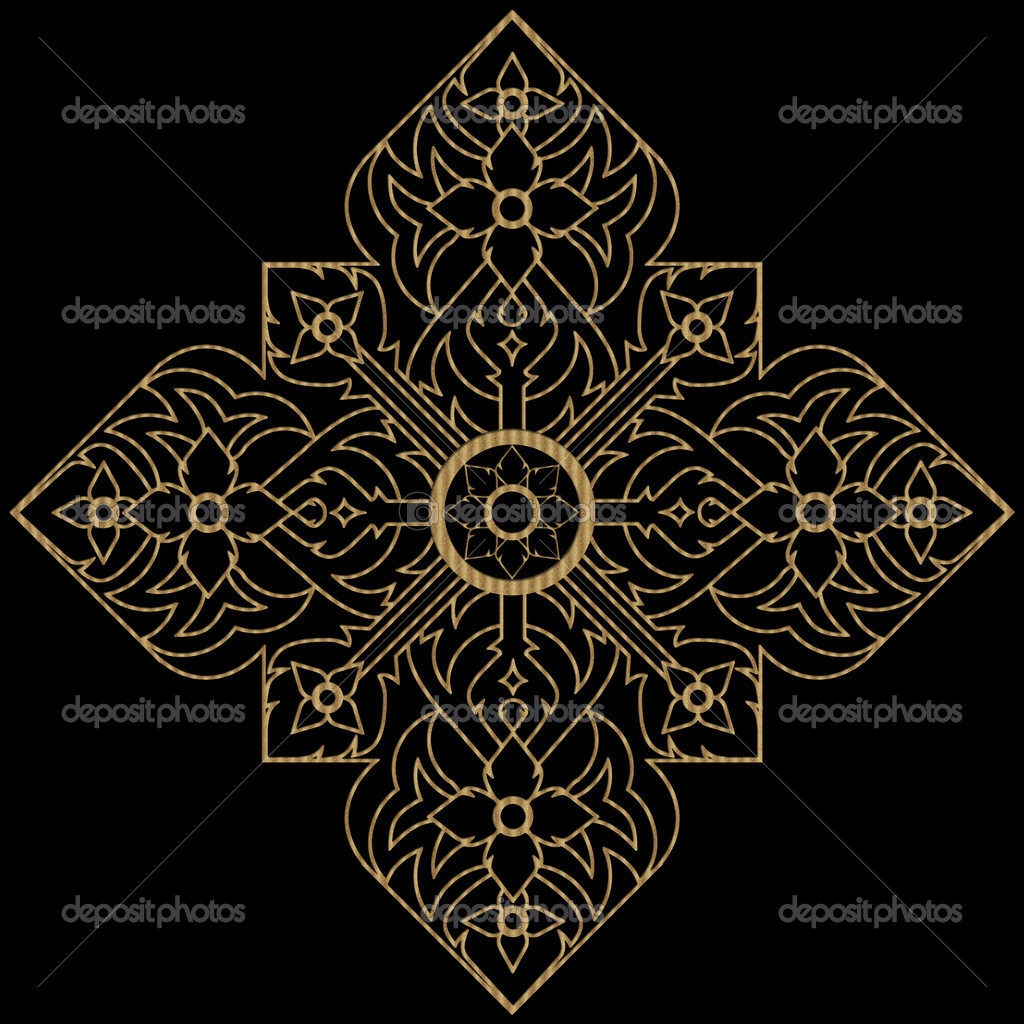 Thai Muster — Stockfoto © bannerwega #21958719