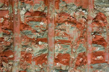 Clayey soil profile