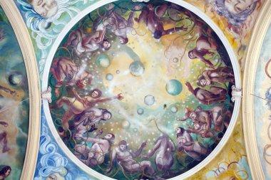 """Картина, постер, плакат, фотообои """"фрески, marianske lazne spa """", артикул 40240981"""