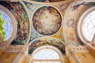 """Картина, постер, плакат, фотообои """"фрески, marianske lazne spa """", артикул 40241369"""
