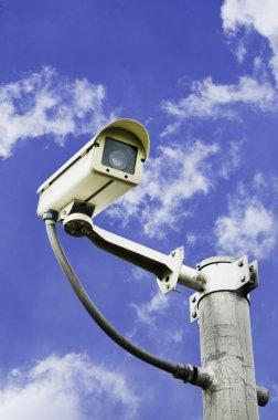 CCTV security.
