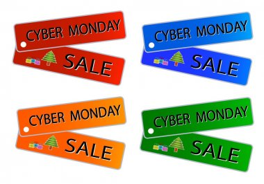 Cyber Monday Sale on Muti Colors Labels