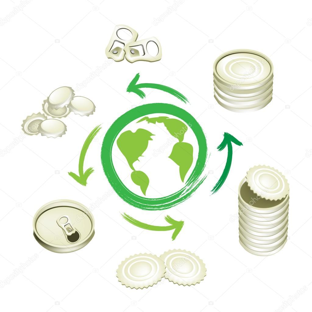 Aluminio puede s mbolo del reciclaje para salvar el mundo - Simbolo de aluminio ...