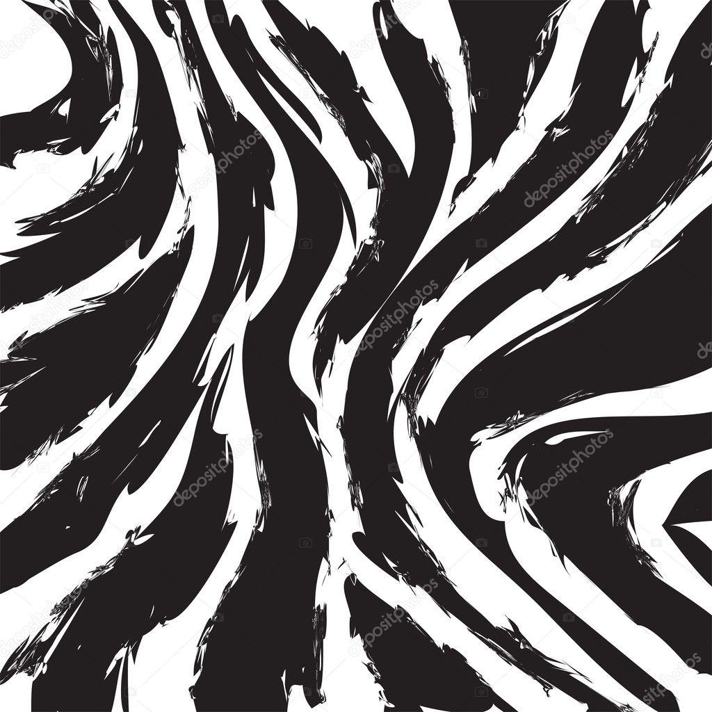 Zebra patterned wallpaper - Zebra Pattern Wallpaper Stock Vector 50614085
