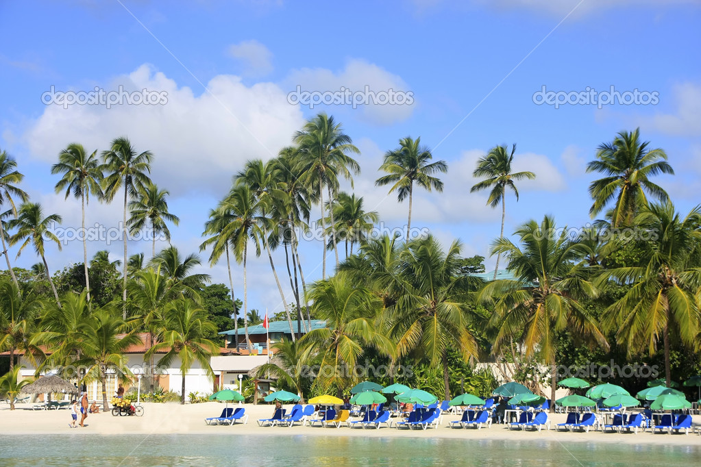 Boca Chica beach, Dominican Republic