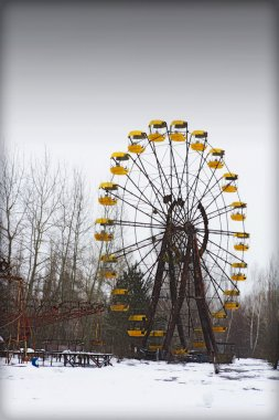 Ferris wheel in Ghost Town